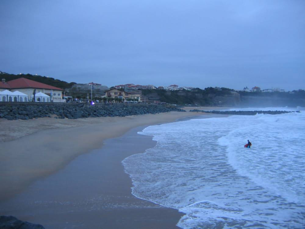 Swell in Anglet Beaches