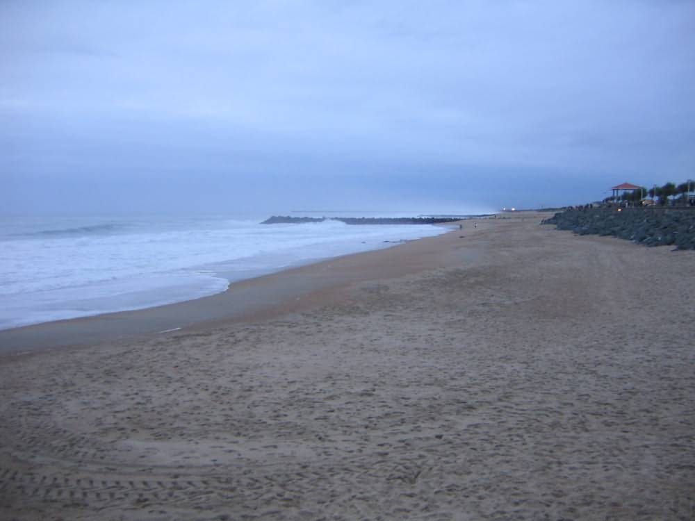 Sand on the Beach at Anglet