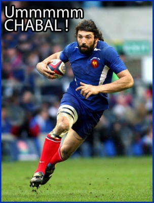 Chabal France Rugby 2007
