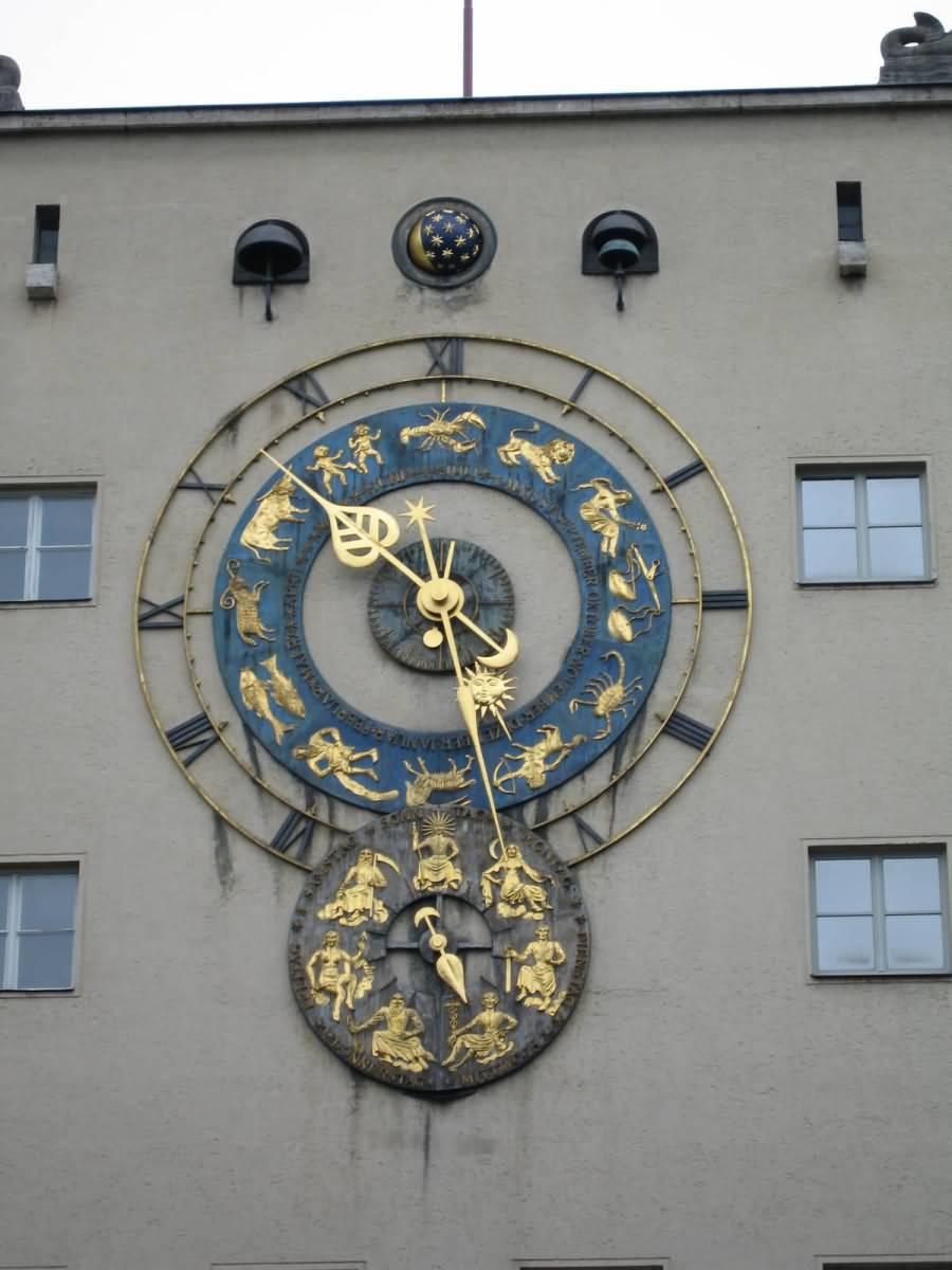 Clock Deutsches Museum Munich