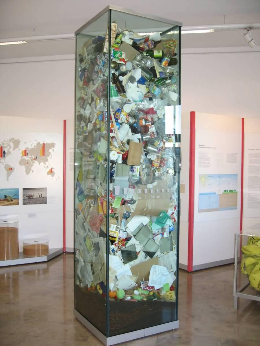 Trash Deutsches Museum Munich