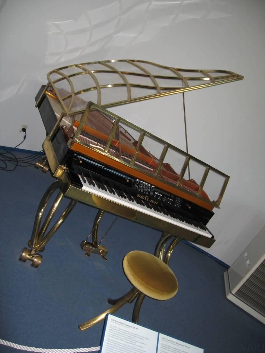 Piano Deutsches Museum Munich