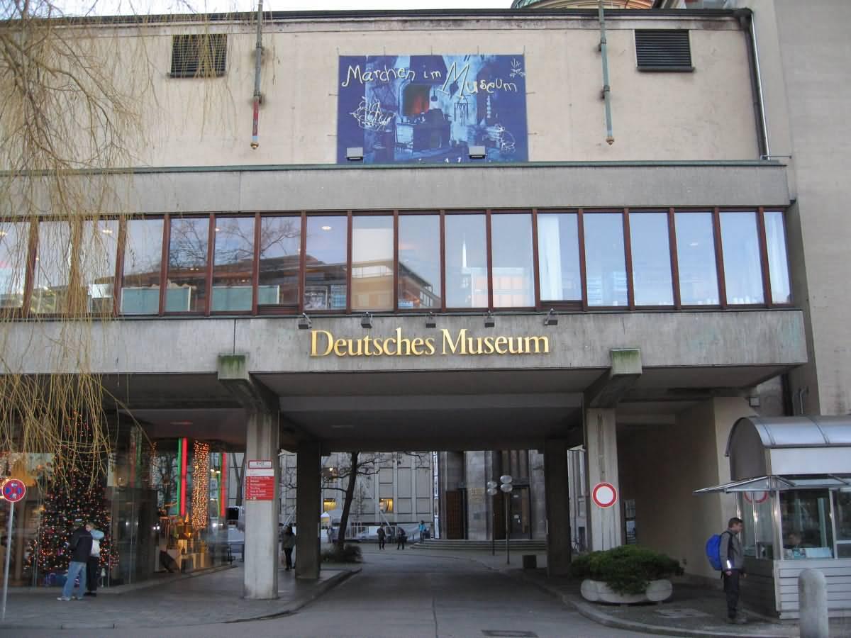 Entrance Deutsches Museum Munich