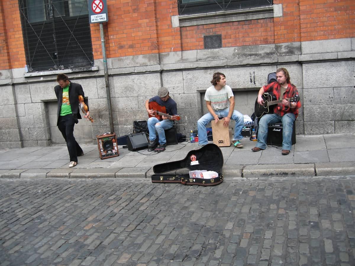 Street Music Dublin