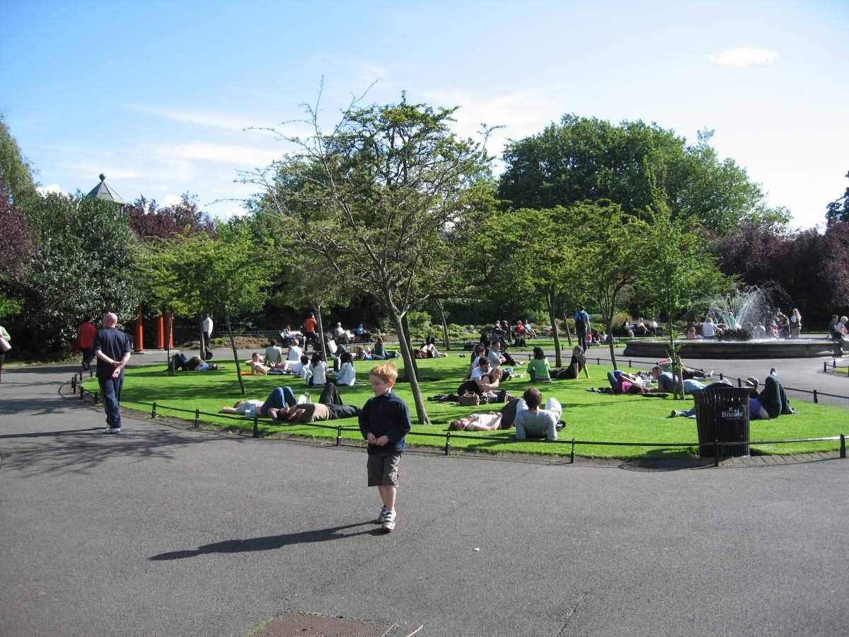 Park Dublin Ireland