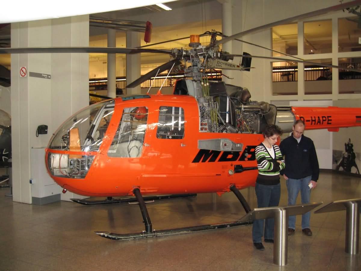Helicopter Deutsches Museum