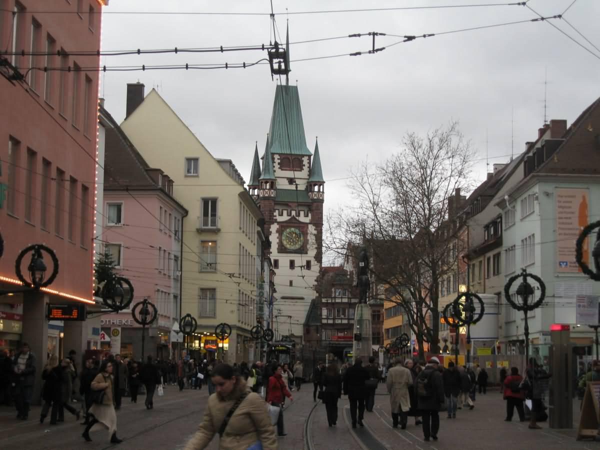 Freiburg streets