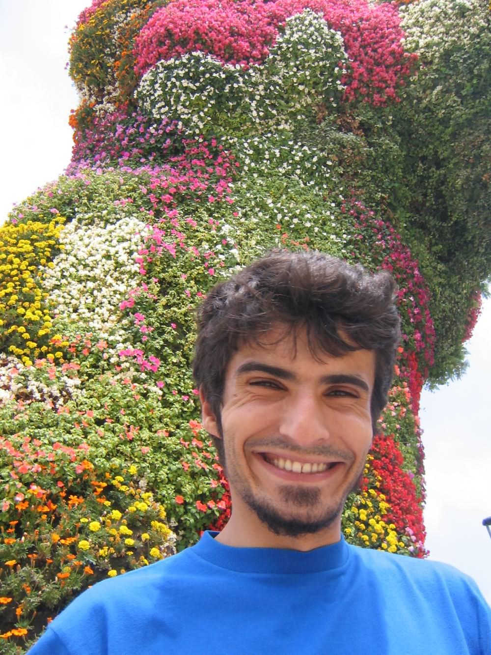 Flowered Dog Guggenheim