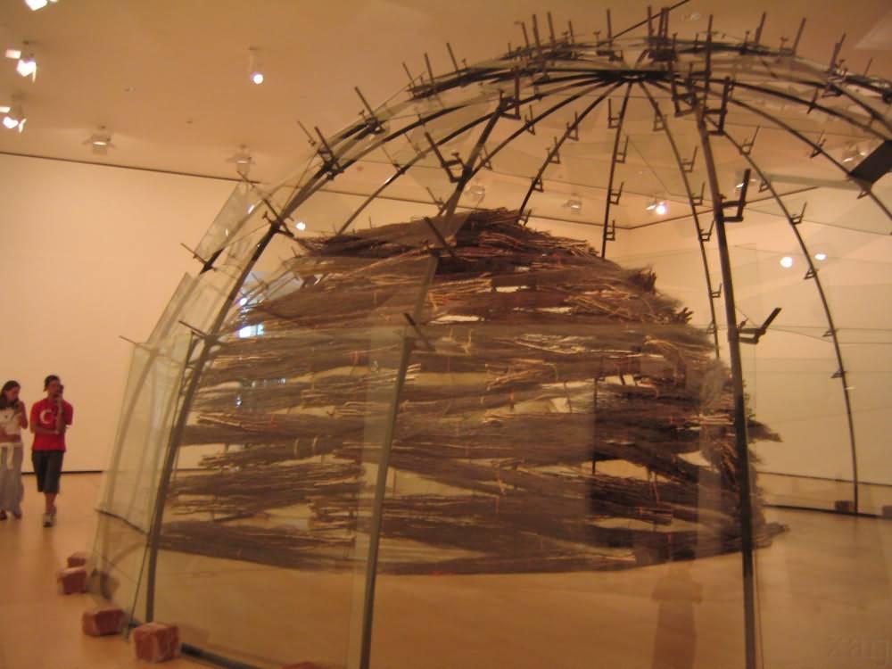 art piece Guggenheim Spain