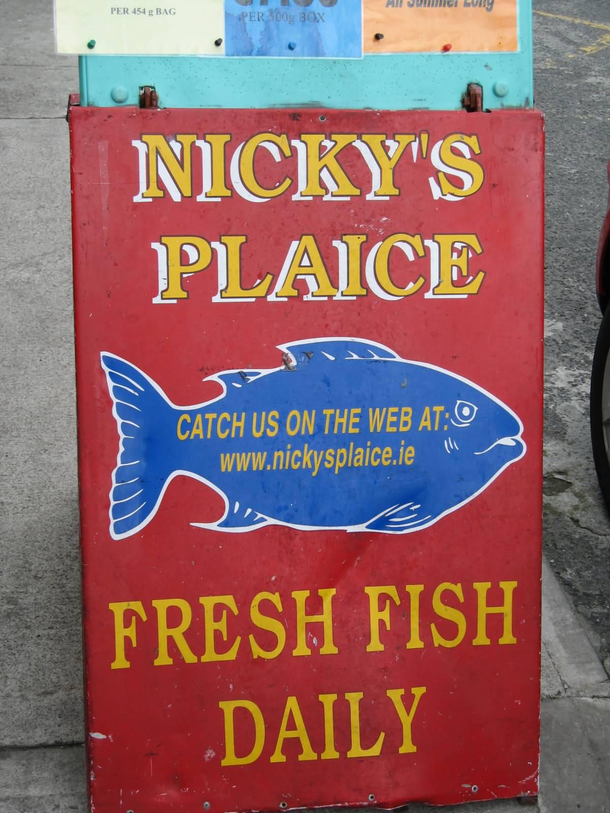 Nicky\'s Plaice Howth