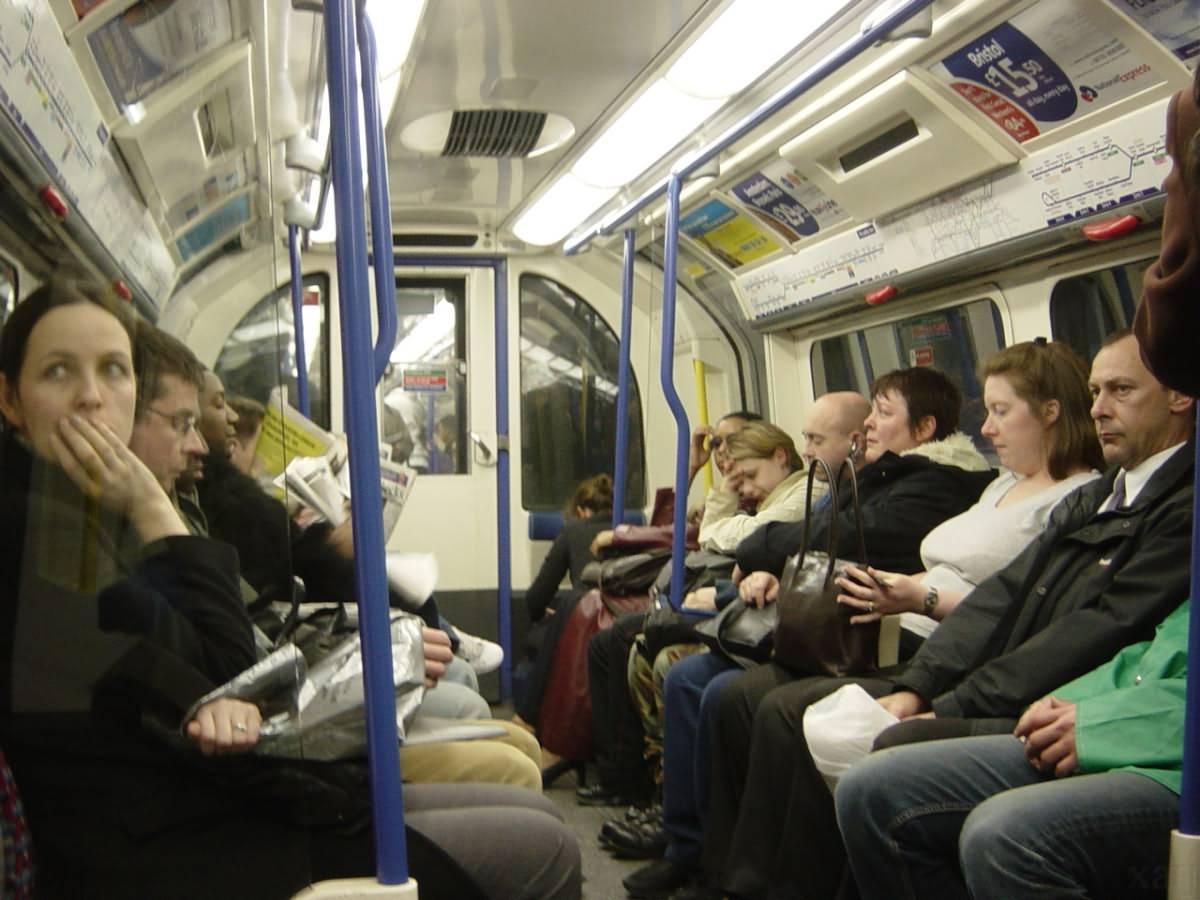 Inside the London Train