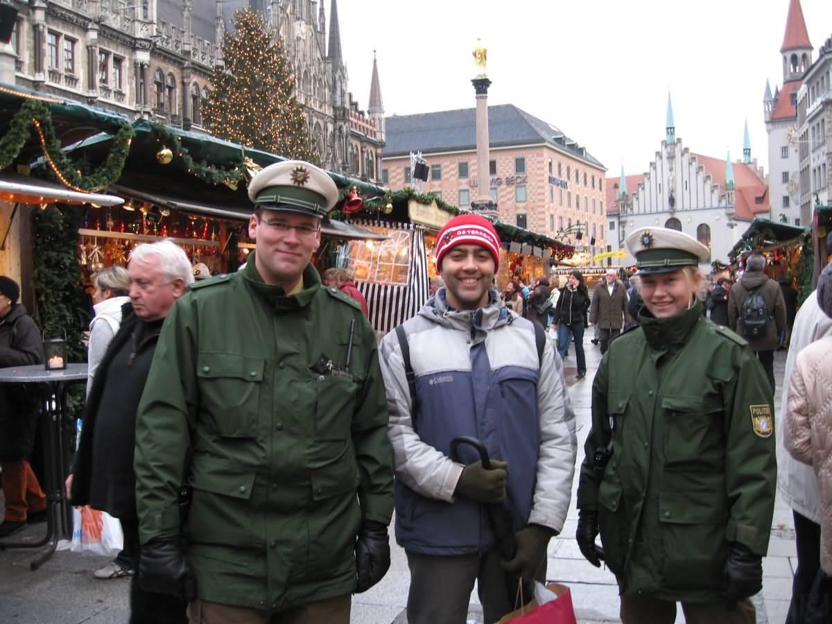 Cops Munich Germany