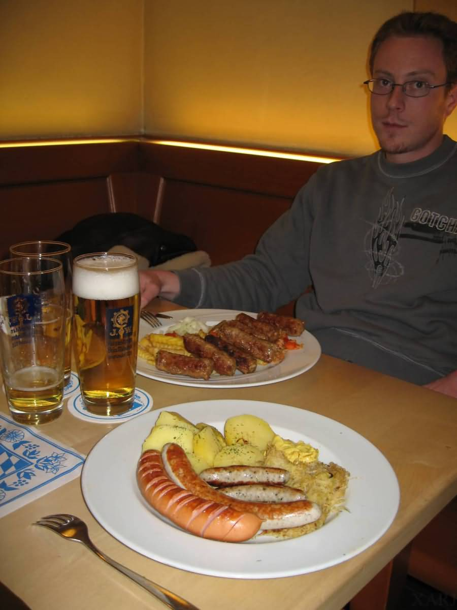 Saussage Munich Germany