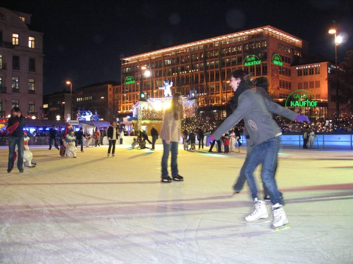 skating Munich Germany