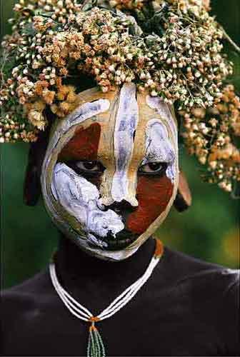 Ethiopia Body Painting