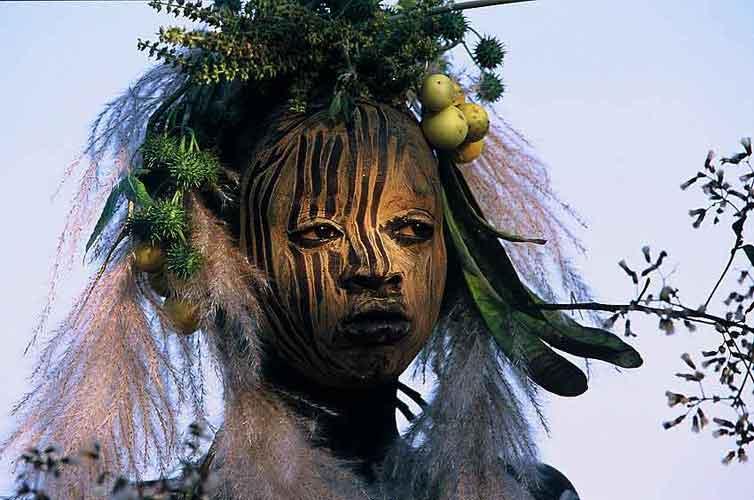 Omo Tribe Ethiopia Body Painting