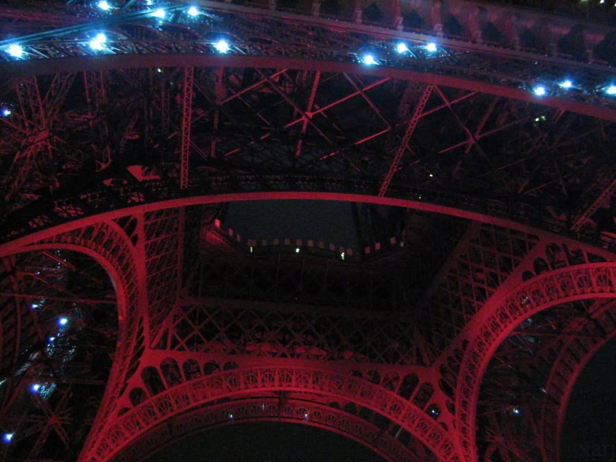Bottom of Tour Eiffel