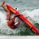 Surfer WipeOut Big Waves