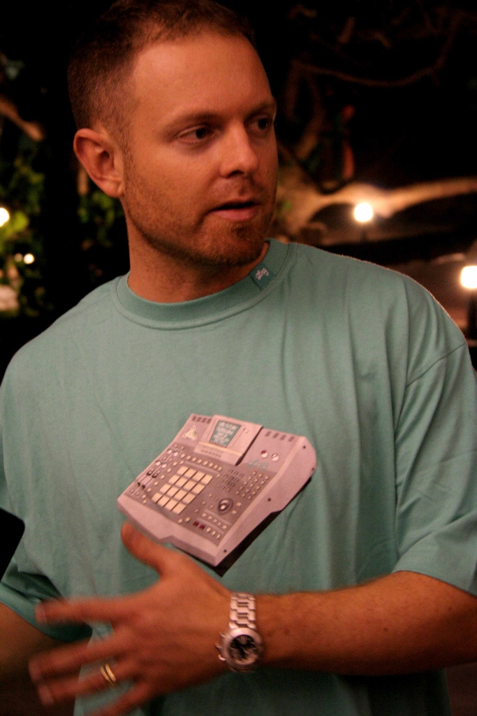 DJ Shadow photo