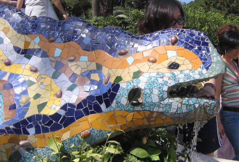 Gaudi Lizard Barcelona