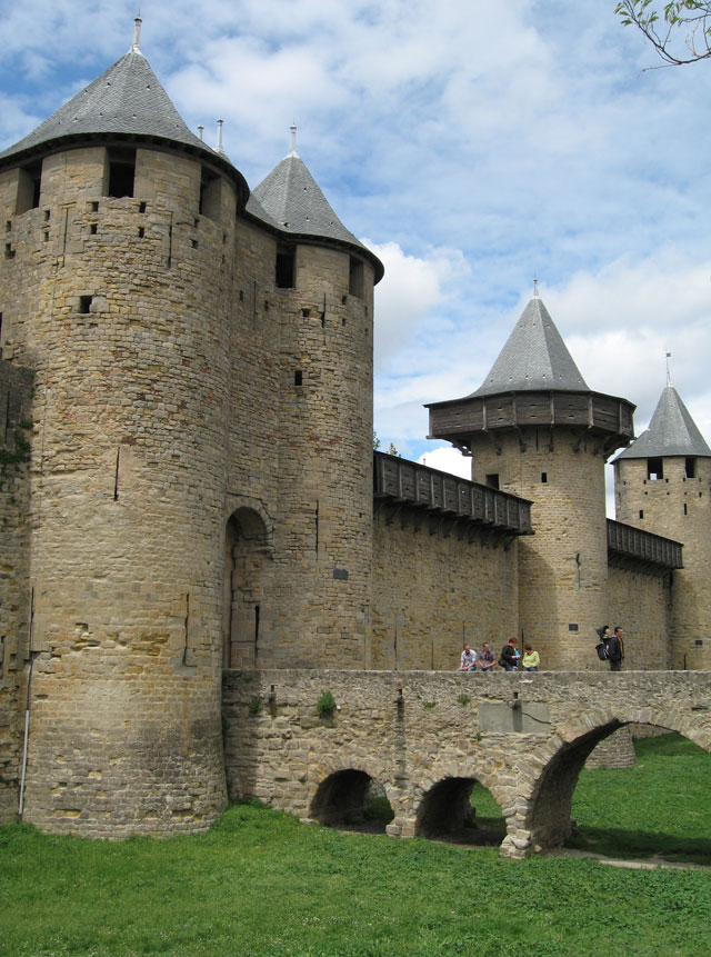 Medieval Entrance Of The French Fortified Town Royalty ... |Uzziahs Fortified Cities