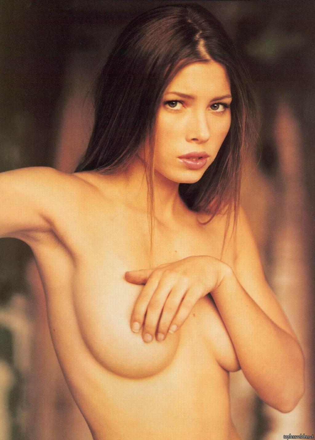 Jessica biel boobs