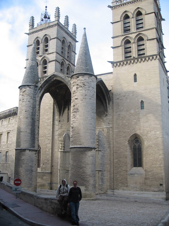 Montpellier cathedral Saint-Pierre