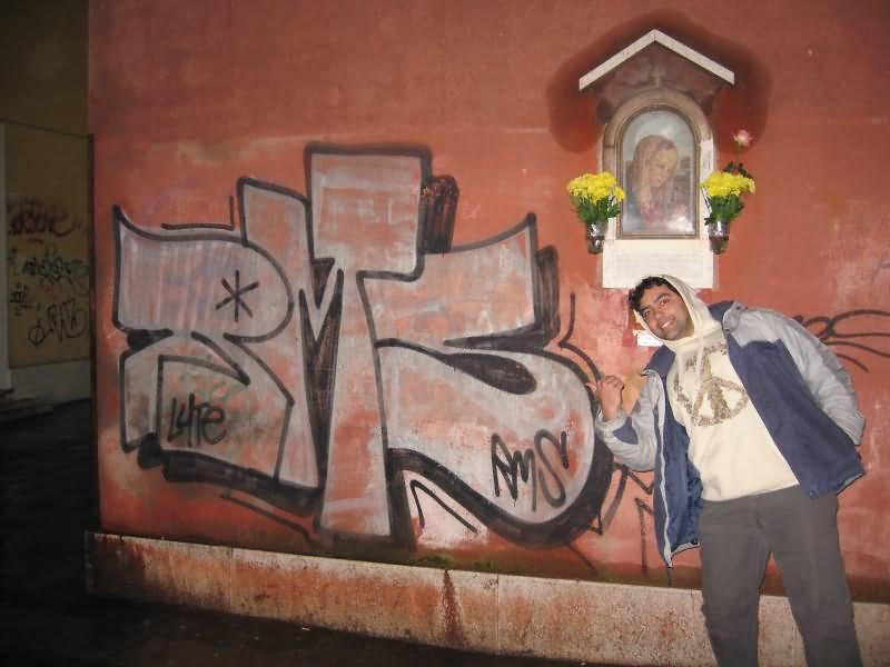 Grafiti Venise Italy