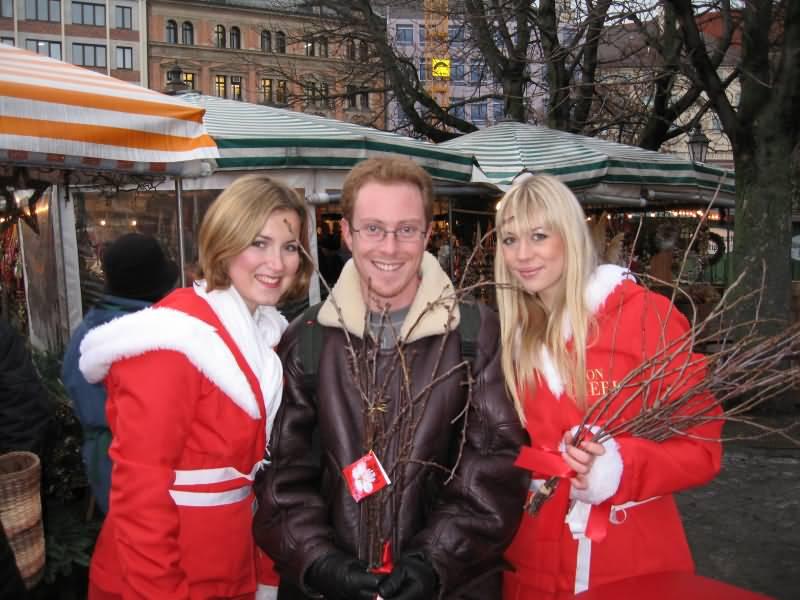 Beautiful girls in Munich