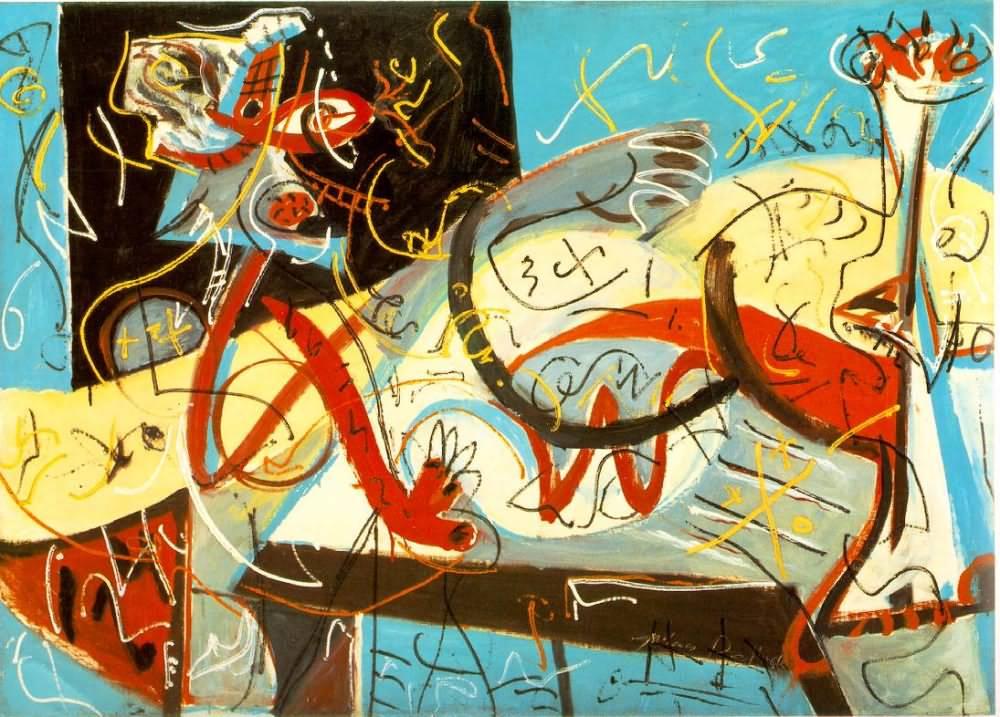 Empty Thinking By Pollock