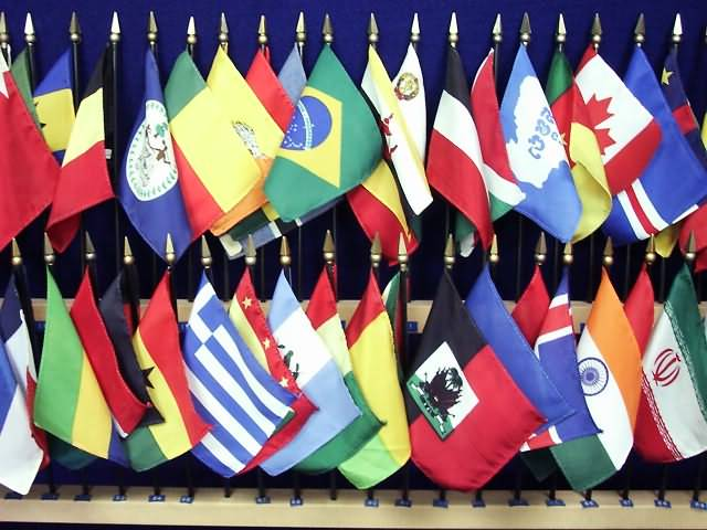 Flags Of The World With Names. World Flags amp; Languages on the