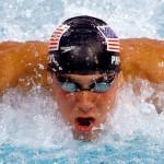 Michael Phelps At Beijing Olympics 2008