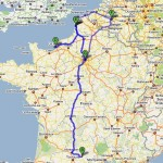 Traveling 8391km, 36 hours in 9 days